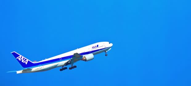 ANAの飛行機画像