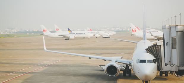 JAL飛行機の画像